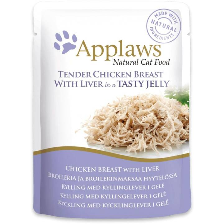 APPLAWS Alimentation humide (Adulte, 70 g, Poule)