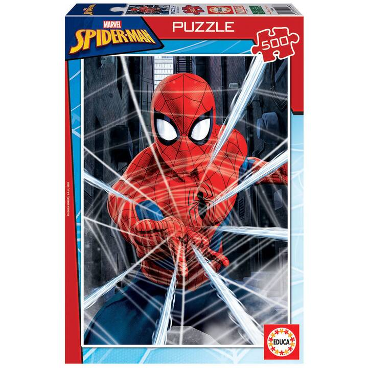 EDUCA Spider-Man Puzzle (500 pièce)