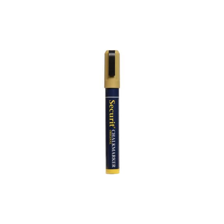 SECURIT Marcatore gesso SMA510-GD (Oro, 1 pezzo)