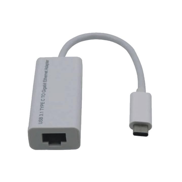 Adattatore M-CAB USB-C/RJ-45