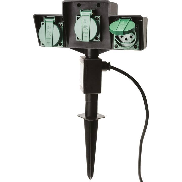 MAX HAURI Presa multiple AG 127891 (T13 / T12, 2000 mm, Nero, Verde)