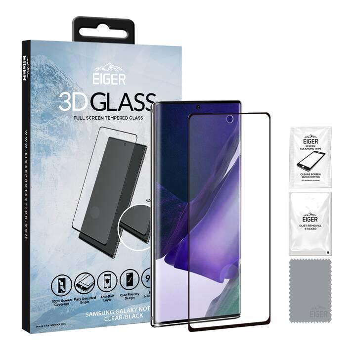 EIGER Vetro protettivo da schermo 3D Glass (Chiara, Galaxy Note 20)