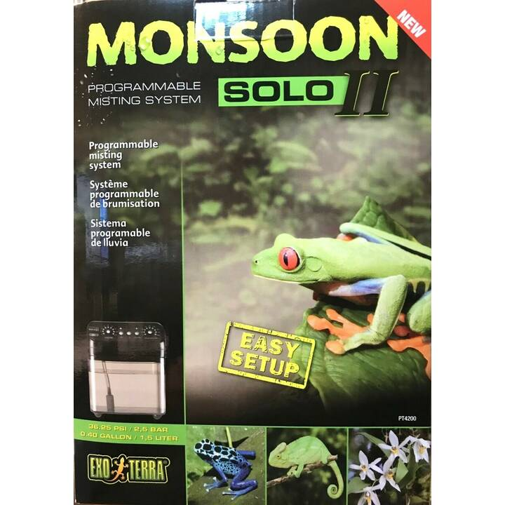 EXOTERRA Nébulisateur Monsoon Solo II