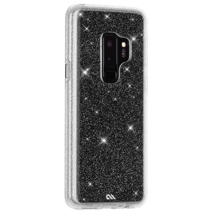 CASE-MATE Backcover (Galaxy S9 Plus, Silber, Transparent)