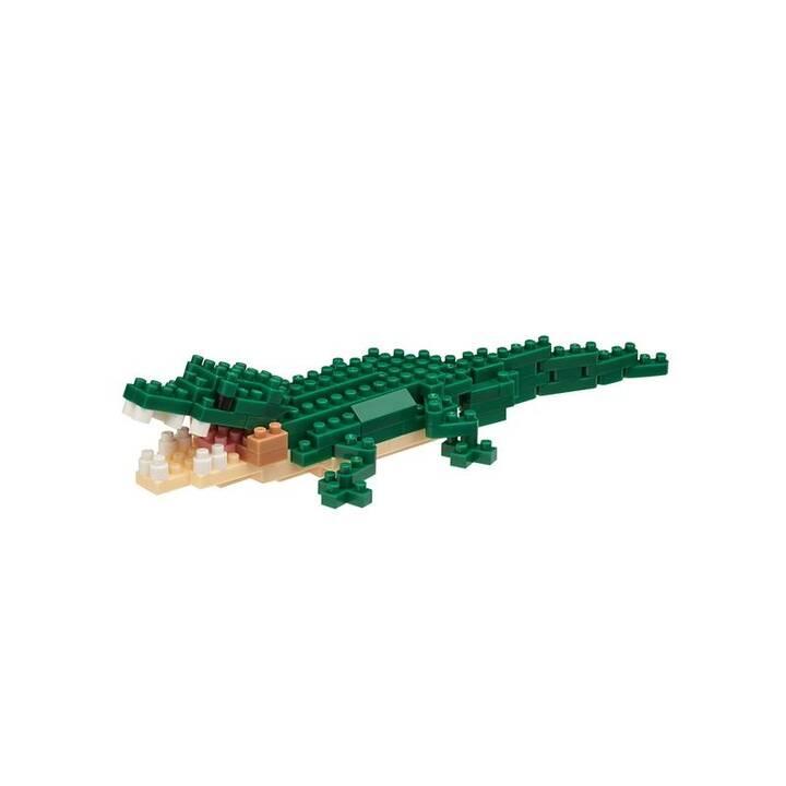 Mini NANOBLOCK Crocodile