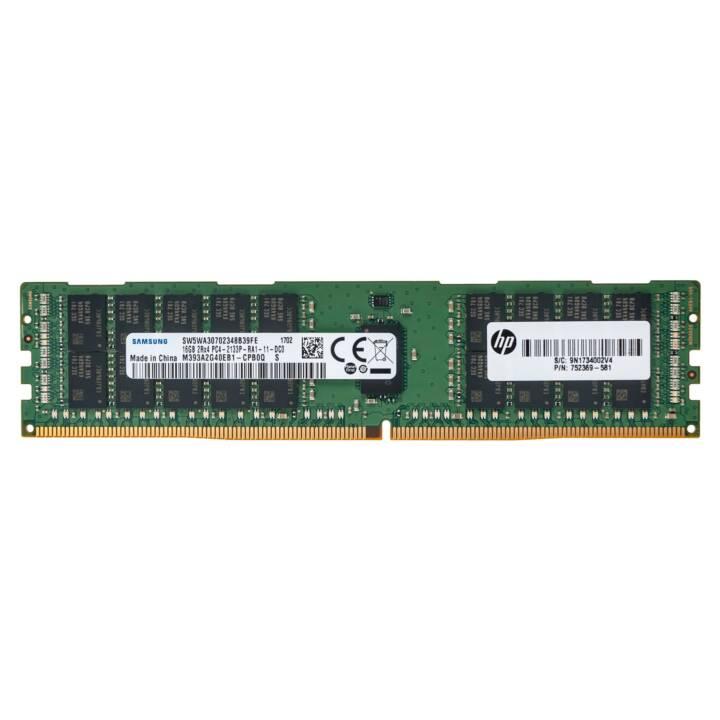 VARIATEUR HP DIMM 288 BROCHES DDR4, 16 GB