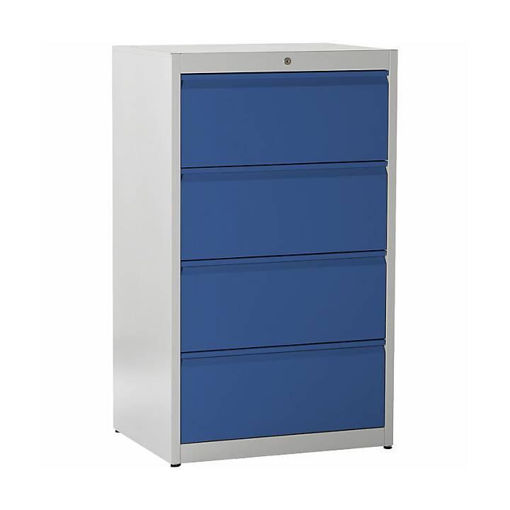 MAUSER Schubladenschrank (Blau, Grau)