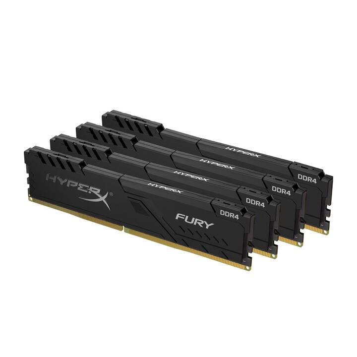 HYPERX Fury (4 x 8 GB, DDR4-SDRAM, DIMM 288-Pin)