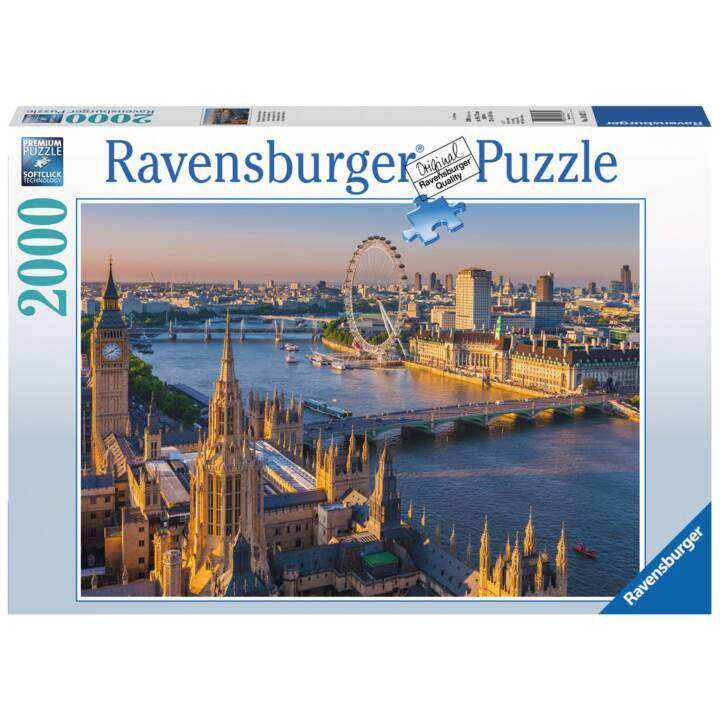 RAVENSBURGER Atmospheric London Puzzle, 2000 pz.