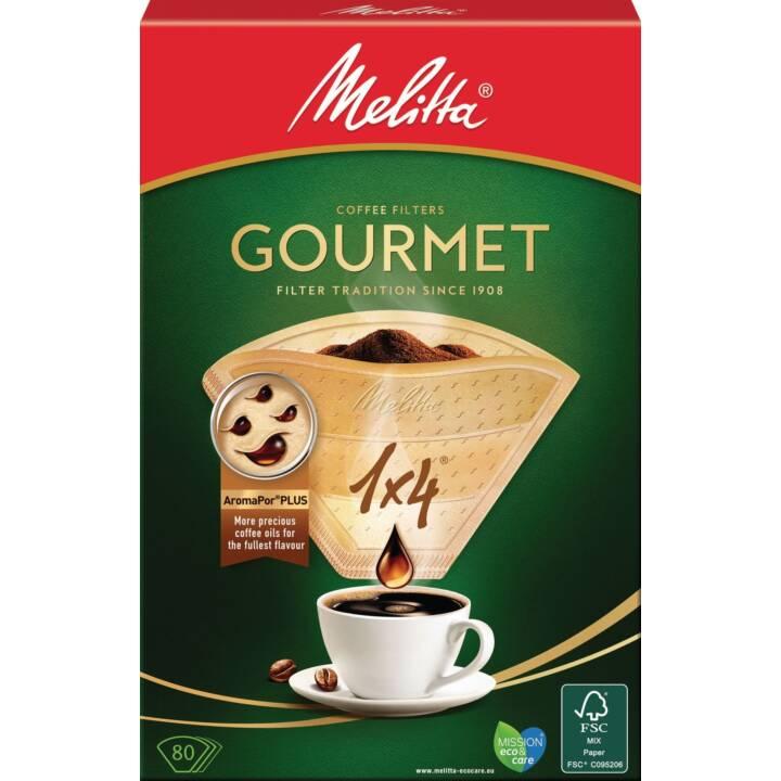 Sacco filtro MELITTA Gourmet 1 x 4