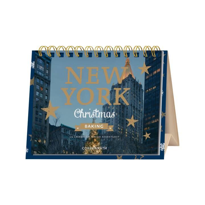COPPENRATH Tabella Calendario dell'avvento New York Christmas Baking (15.5 cm x 20 cm)