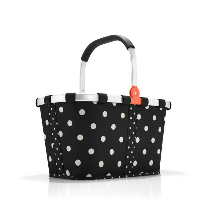 REISENTHEL Cabas Carrybag (22 l, Noir, Blanc)
