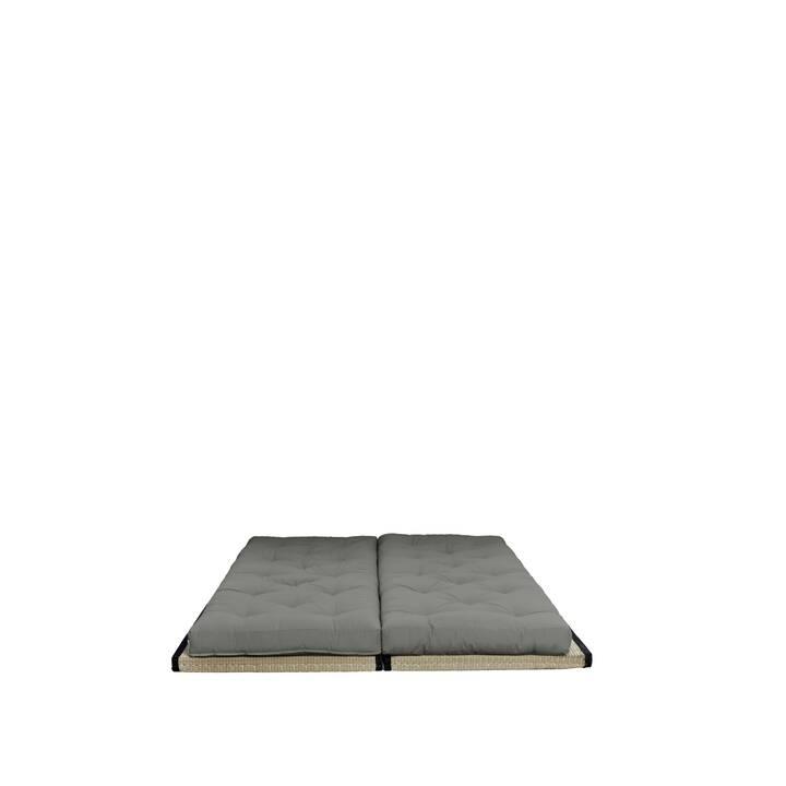 KARUP DESIGN Chico Bettsofa (Polyester, Baumwolle, Grau, 200 cm x 80 cm)