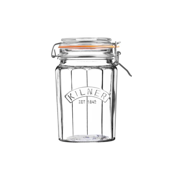 KILNER Vaso per conserve (1 l, Vetro)