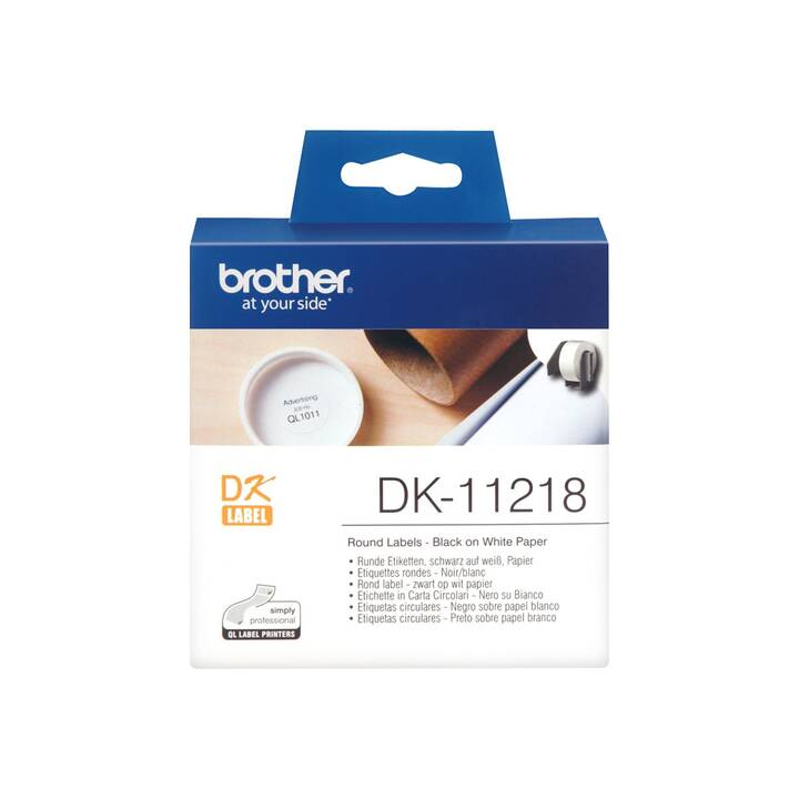 BROTHER DK11218 P-Touch Ettiquettes