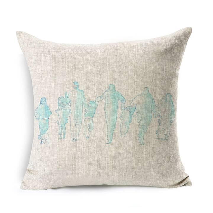 EG fodera per cuscino del divano 45 x 45cm - Biancheria