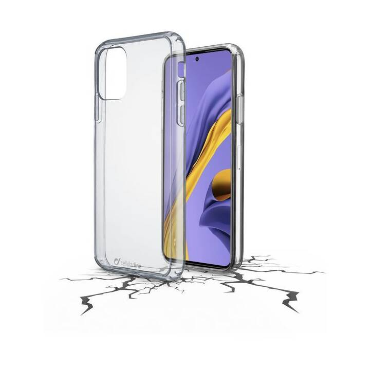CELLULAR LINE Backcover Clear Duo  (Galaxy A51, Transparent)