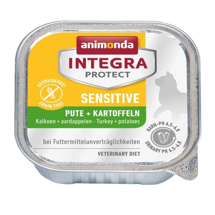 ANIMONDA Integra Protect Sensitive (Adulto, 100 g, Tacchino, Patata)