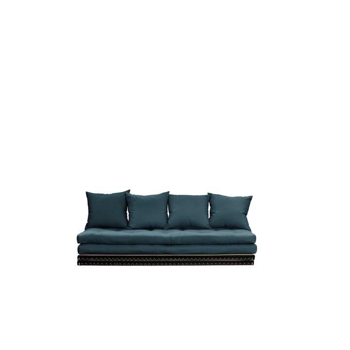 KARUP DESIGN Chico Bettsofa (Baumwolle, Polyester, Petrol, 200 cm x 80 cm)