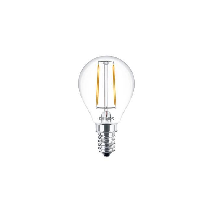 PHILIPS LED Birne (E14, 2 W)