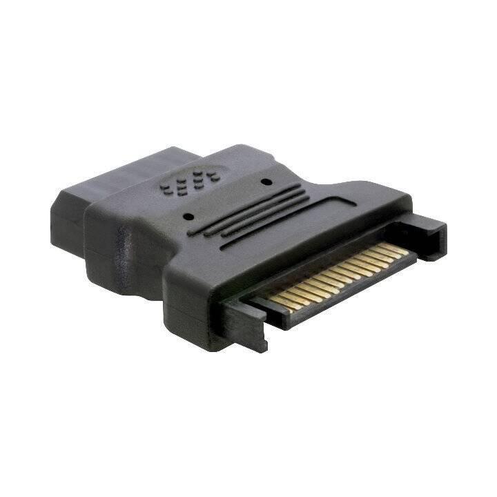 DELOCK Adattatore (Presa 4 Pin Molex, Spina SATA)