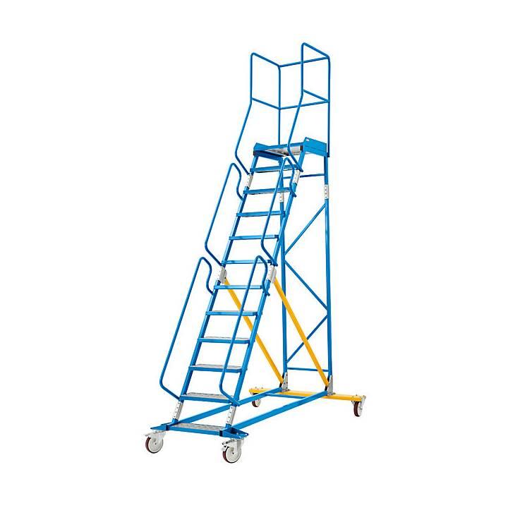 EUROKRAFT Premium Stehleiter (381.5 cm)