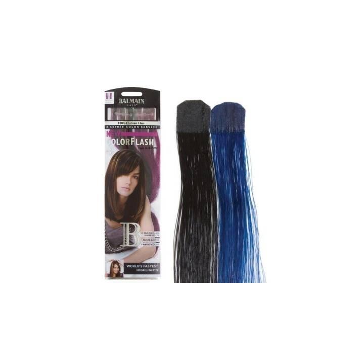 BALMAIN Extension de cheveux CF 40 cm blue ray Color Flash human hair (1 pièce)