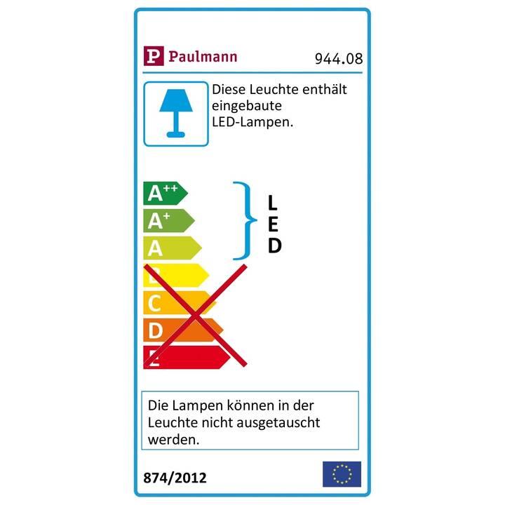 PAULMANN Aussenstrahler Swivea (LED, 8 W, Anthrazit)
