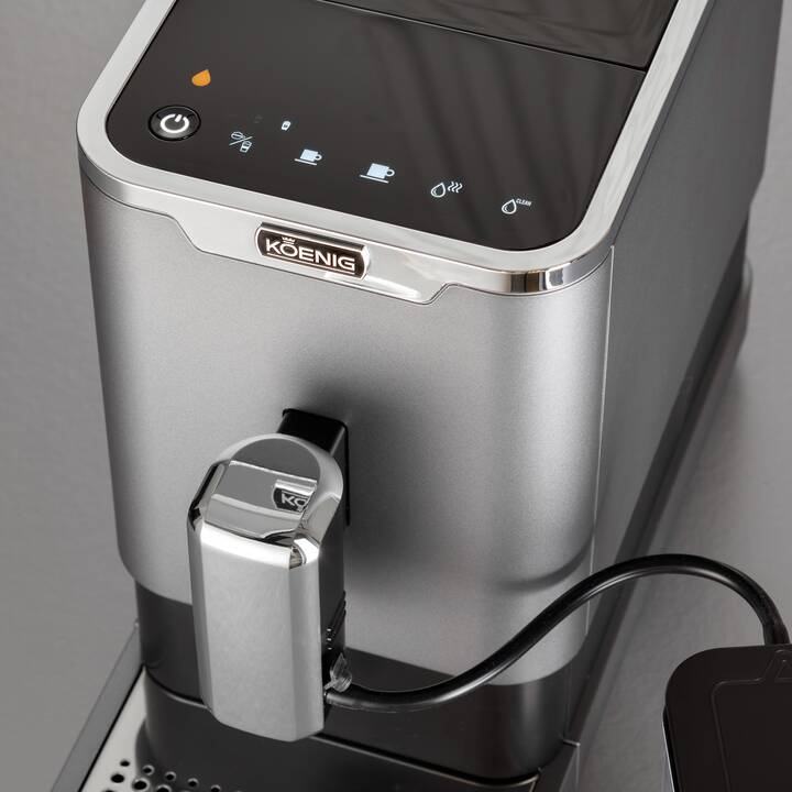 KOENIG Finessa Milk Plus (Gris, 1.2 l, Machines à café automatique)