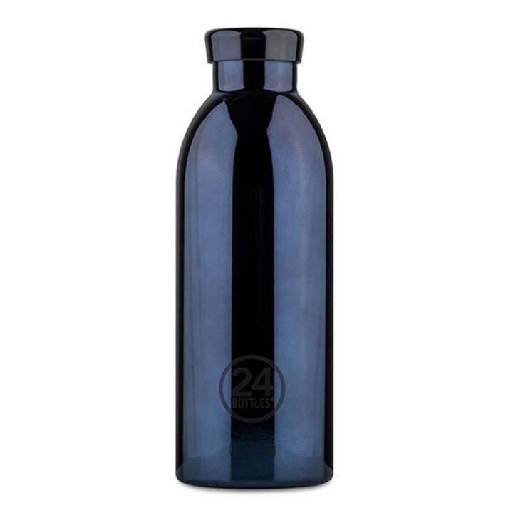 24BOTTLES Thermo Trinkflasche Clima Black (0.5 l, Schwarz)