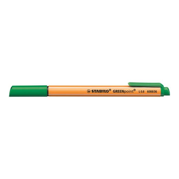 STABILO Faserschreiber point 0,8mm grün