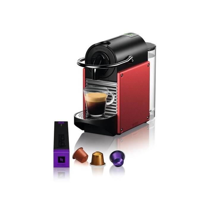 DELONGHI Pixie EN124 (Nespresso, Rouge, Noir)