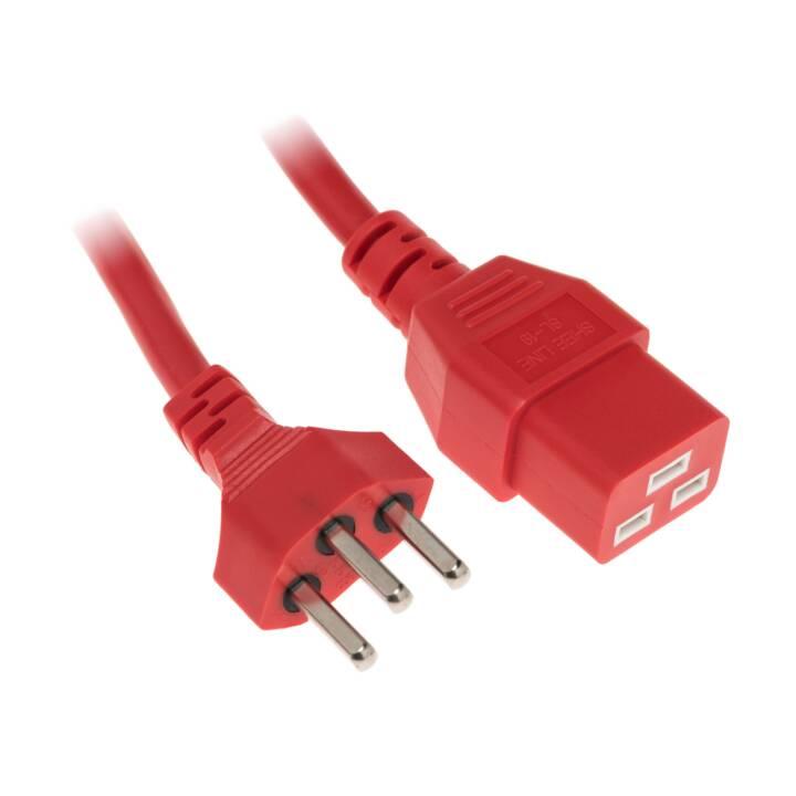Câble d'alimentation DIGGELMANN 1 m C19-T23