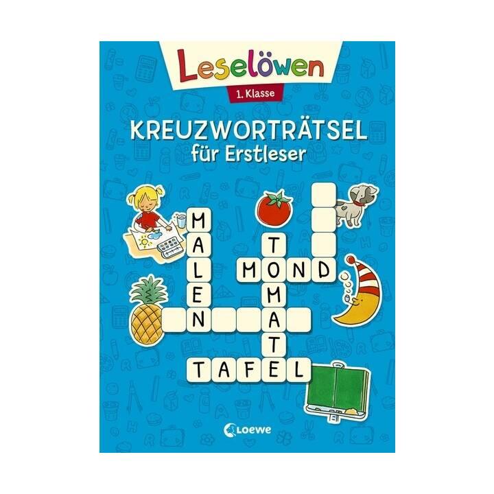Kreuzworträtsel für Erstleser - 1. Klasse