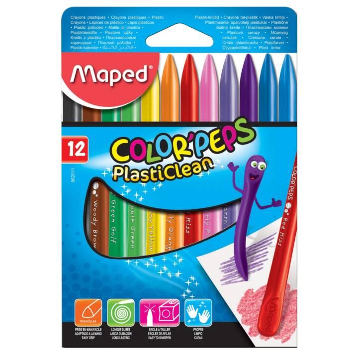 MAPED Farbstifte Plasticlean 12 Stück