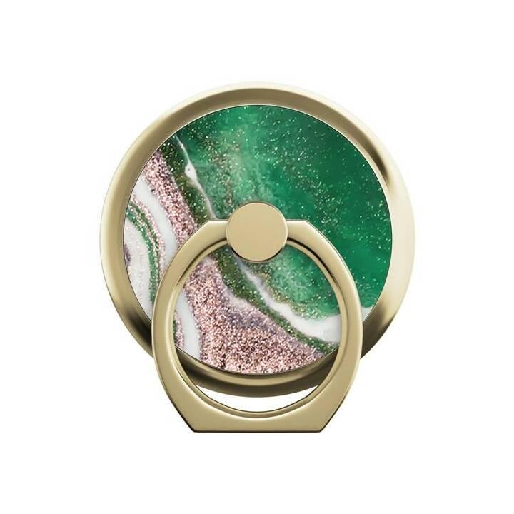 IDEAL OF SWEDEN Golden Jade Marble Fingerhalter (Grün, Gold, Rosa)