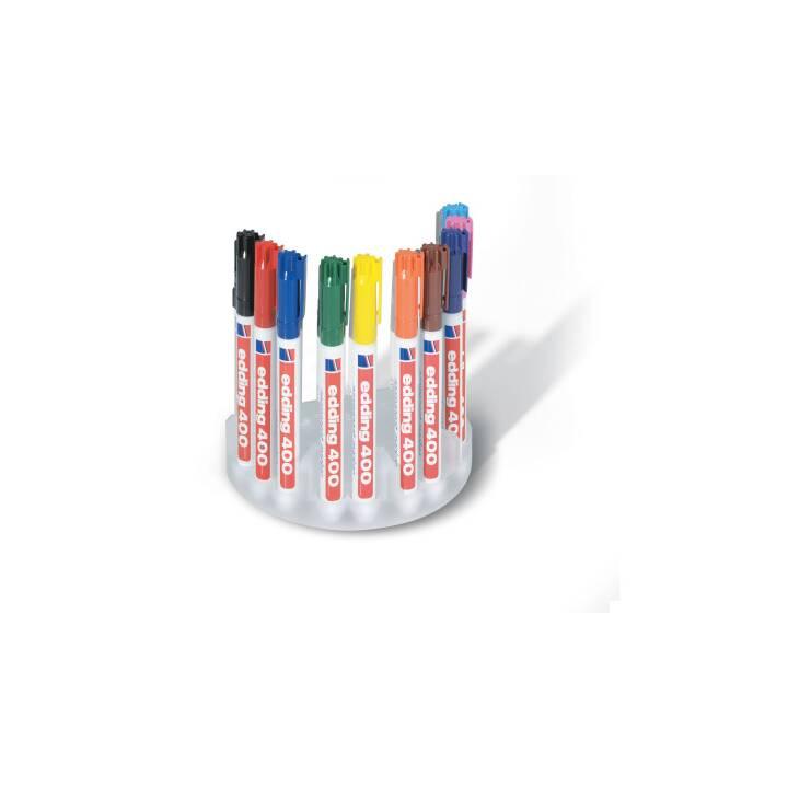 EDDING Marqueur permanent 400 10 couleurs