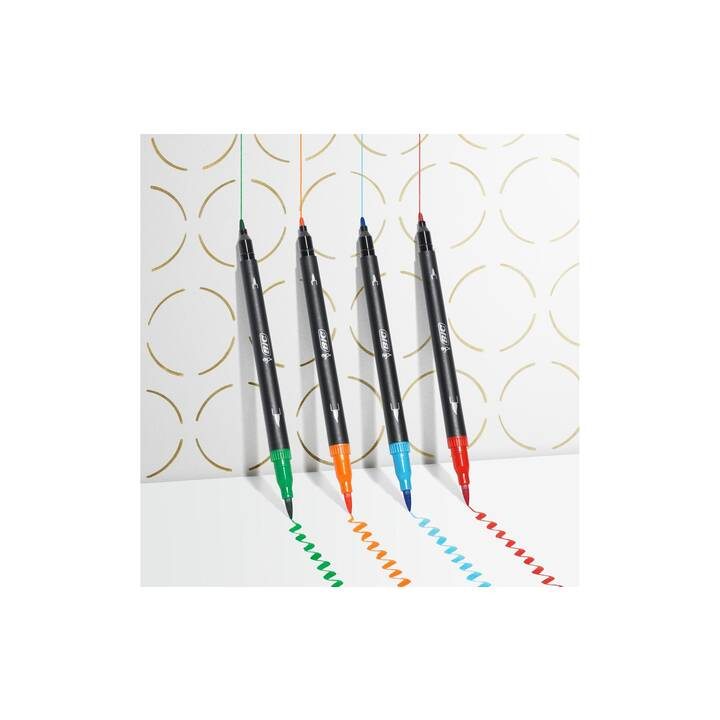 BIC Crayon feutre (Multicolore, 32 pièce)