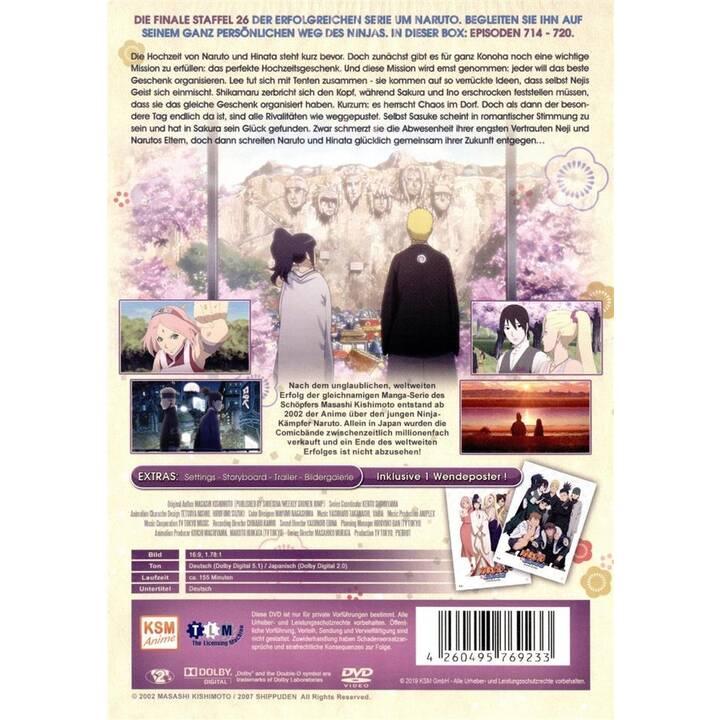 Naruto Shippuden- Narutos Hochzeit - Staffel 26 (JA, DE)