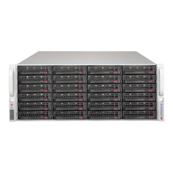 SUPER MICRO SC846 BE1C-R1K03JBOD - Rack - einbaufähig - 4U
