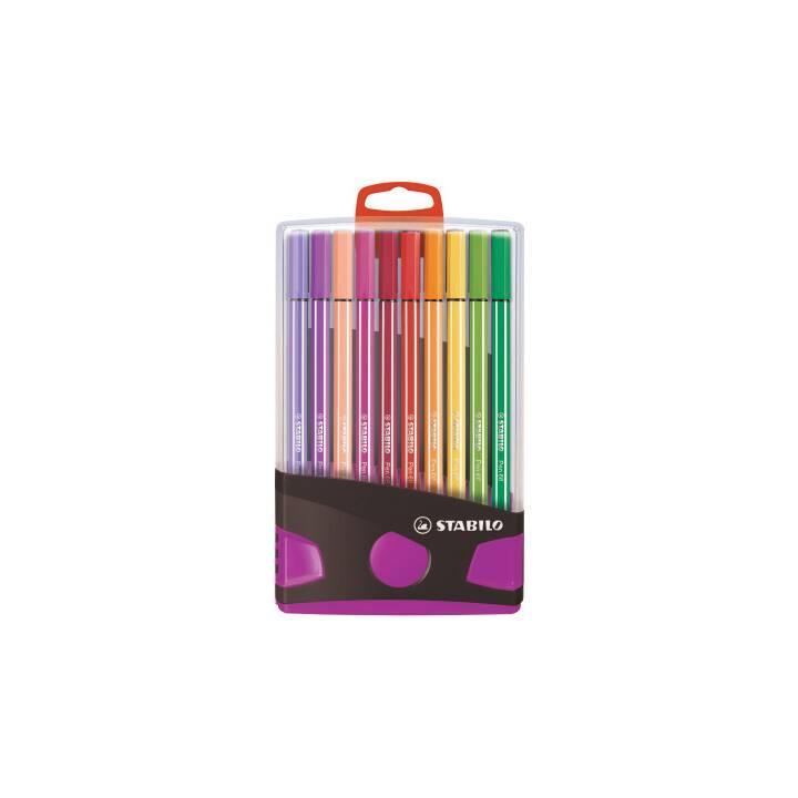STABILO ColorParade Crayon feutre (Multicolore, 20 pièce)