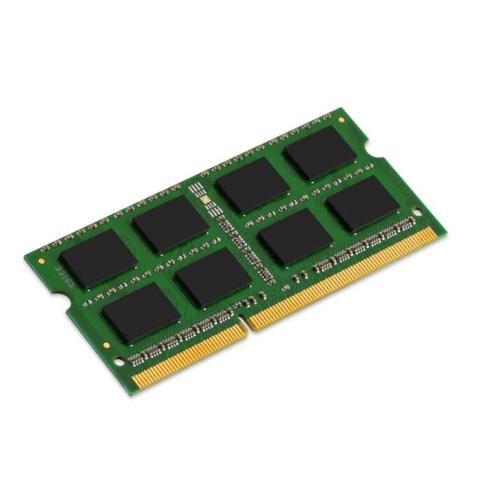 KINGSTON TECHNOLOGY KCP313SS8 (1 x 4 GB, DDR3-SDRAM, SO-DIMM 204-Pin)