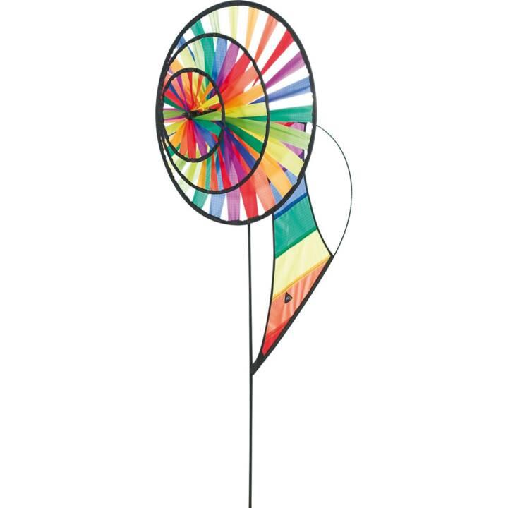 INVENTO-HQ Ruota a vento Triple Rainbow (Multicolore, 44 cm x 96 cm)