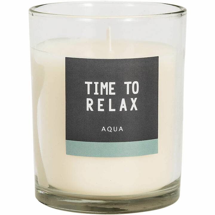 DIV1 Time to Relax Aqua Candele profumate (1 pezzo)