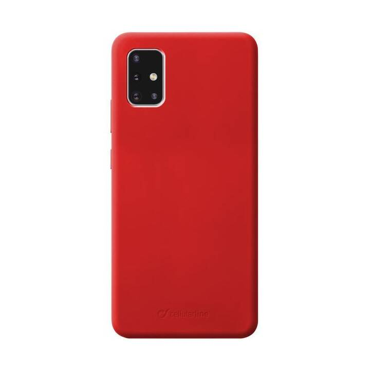 CELLULAR LINE Backcover Sensation (Galaxy A71, Rot)