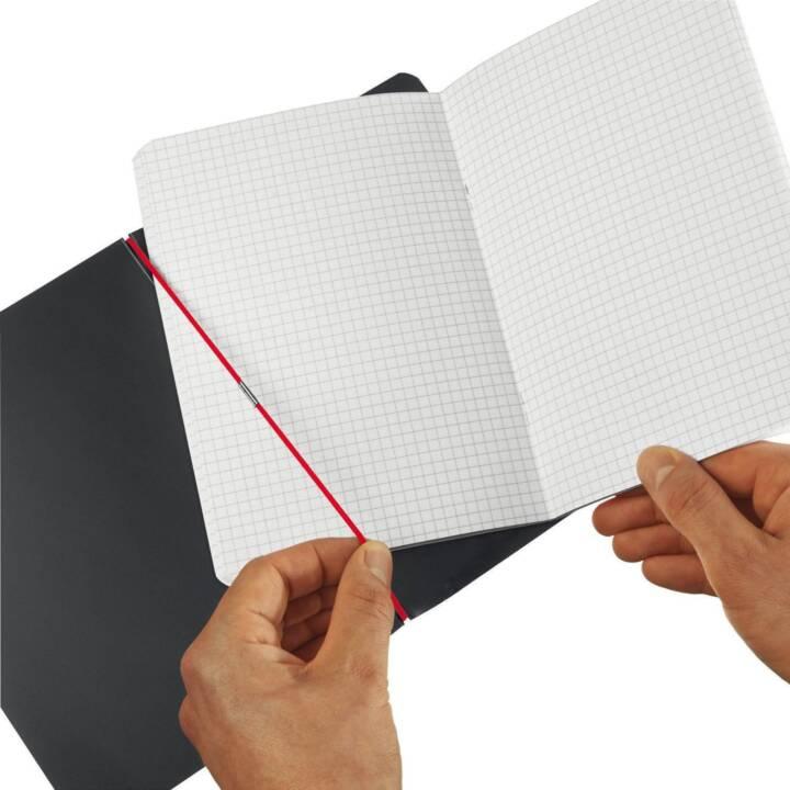 PELIKAN Notizheft my.book flex A5, Kariert, Black