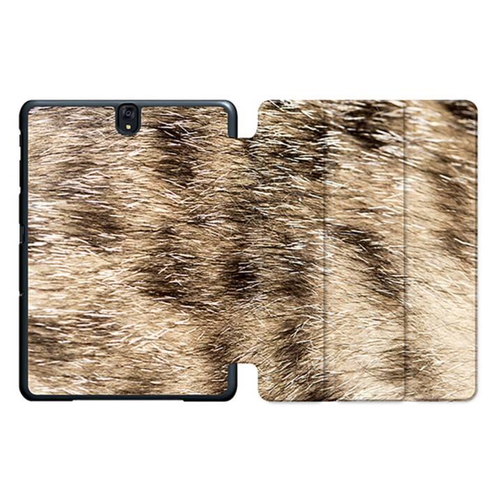 """EG MTT Sacoche à comprimés avec housse pliable Smart pour Samsung Galaxy Tab S3 9.7"""" MTT - Peau d'animal"""