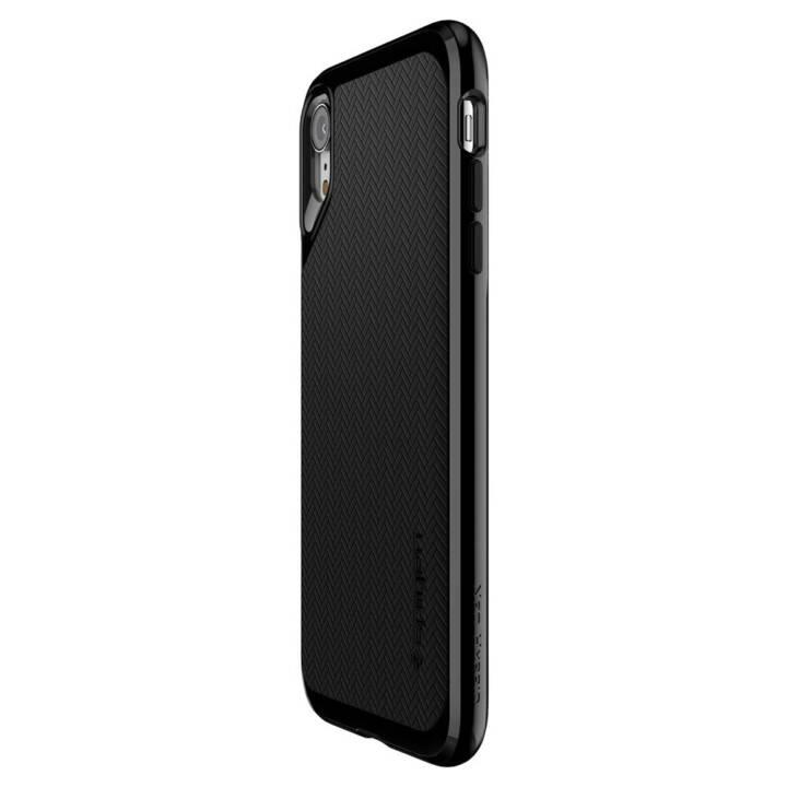 SPIGEN Couverture arrière Neo Hybrid iPhone XR Noir de jais