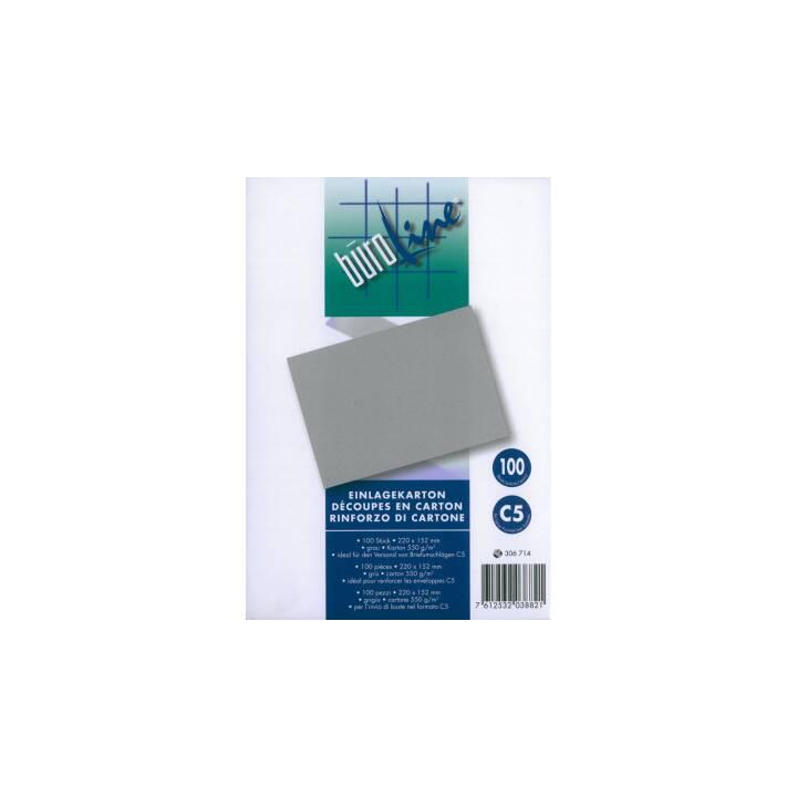 BÜROLINE Cartoncino di rinforzo (152 cm x 220 cm, 100 pezzo)