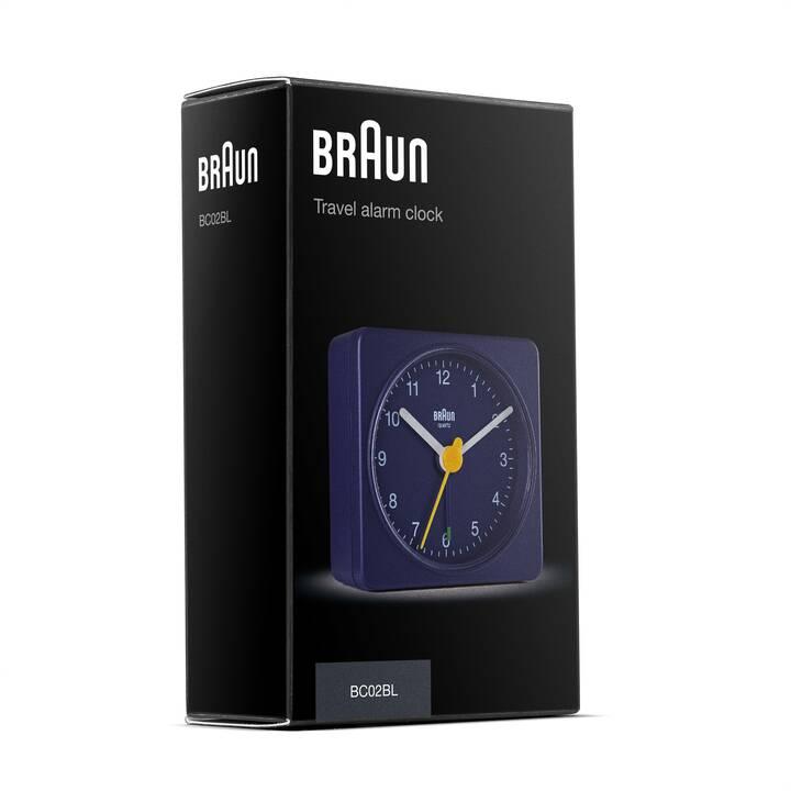 BRAUN Réveil classique BC02 (Bleu)